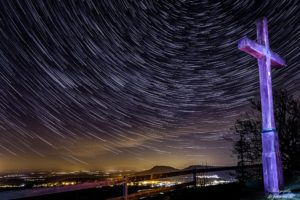 Startrails und Lightpainting